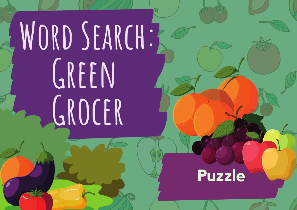 Word Search – Green Grocer